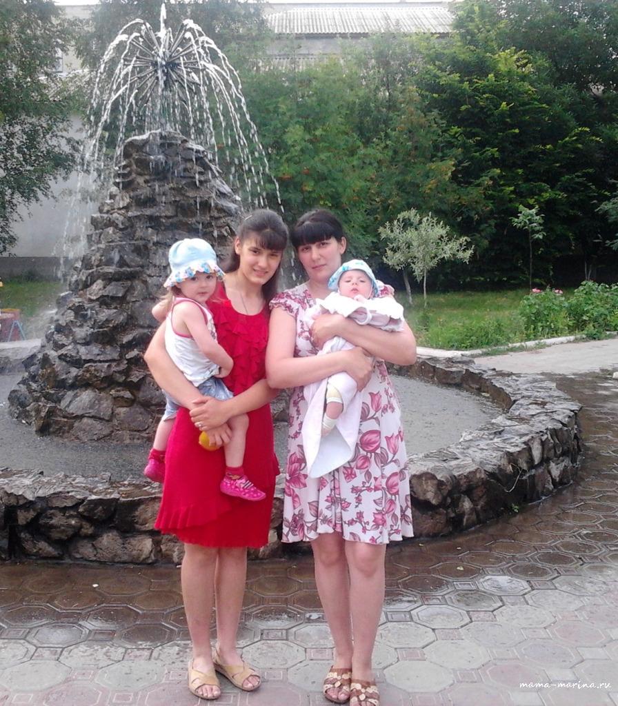 20 июня 2014, Котовск, Лена, мама Марина, Настя и Тёма копия