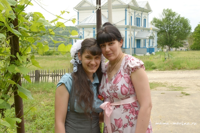Лена с мамой-2