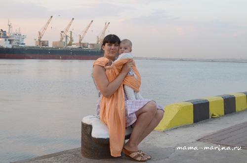 С Тёмой в морском порту copy