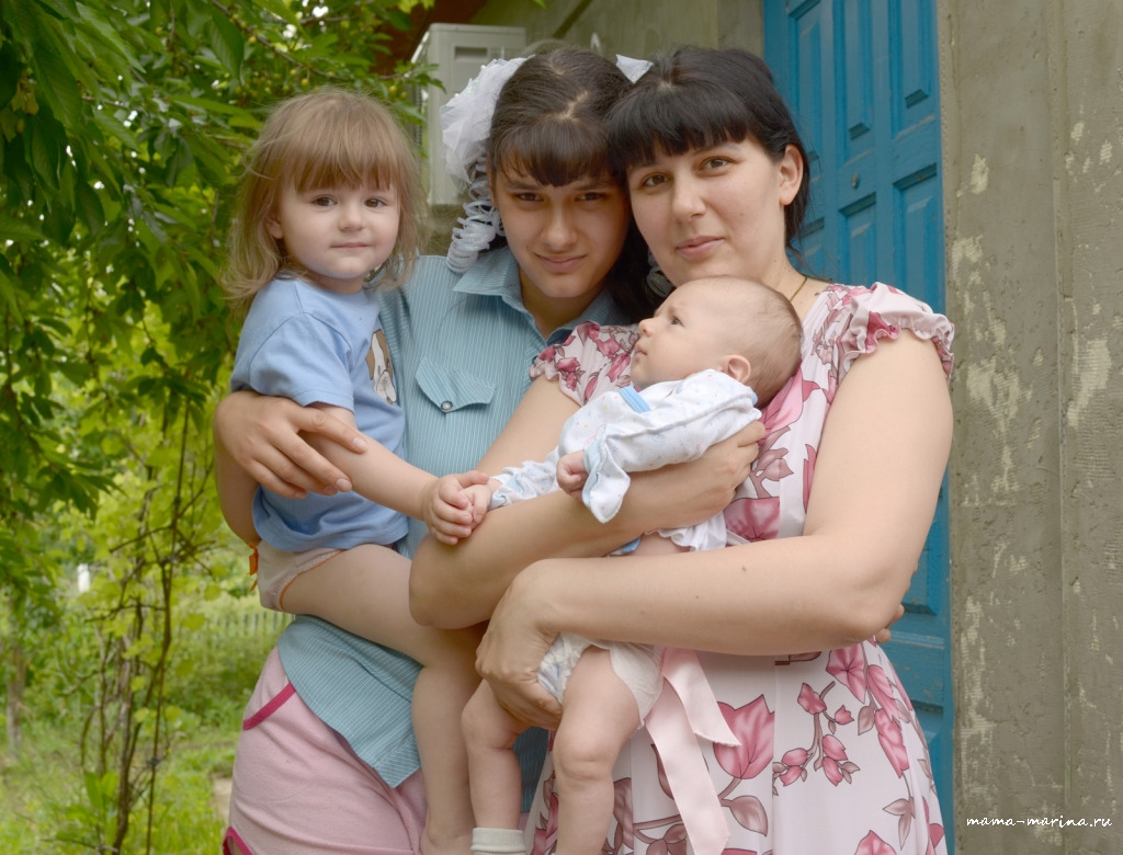 мама, Настя, Лена, Тема копия