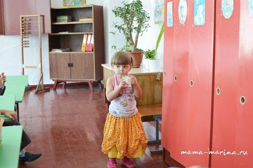 у Кирилла в классе - Настя с соком копия