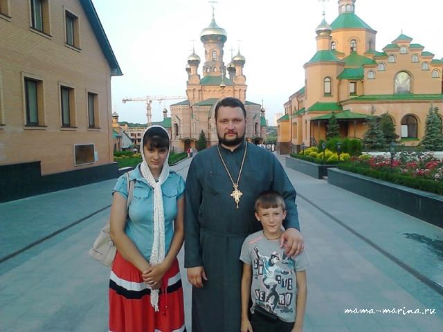 Киев, 8-9 июля.  Паломническая поездка. Супруг, старшая дочь и средний сын.