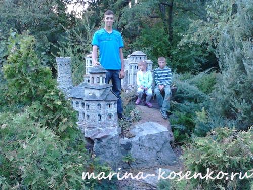 3-й день: на патриаршей даче (монастырь и семинария) - Алексей, Настя, Кирилл