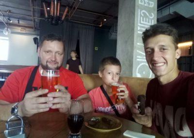 В кафе Miles на Гоголевском бульваре