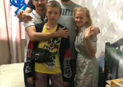 С дружной семьей Жегаловых